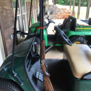 Golf Cart 400FB Front Side Mount Gun Rack