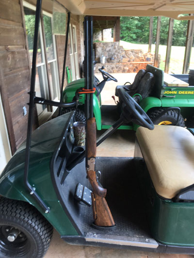400FB Front Side Mount on utv gun racks, ezgo kawasaki engine parts, golf cart storage racks, ezgo roof dimensions, ezgo racks gun diy, ezgo st 480 workhorse, golf cart front racks, atv gun racks,