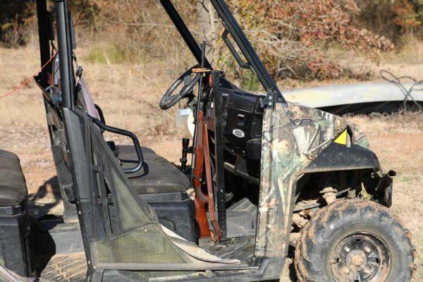525 UTV Gun Rack Single Mount